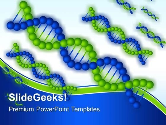 Dna Structure Science PowerPoint Templates And PowerPoint Themes 0512