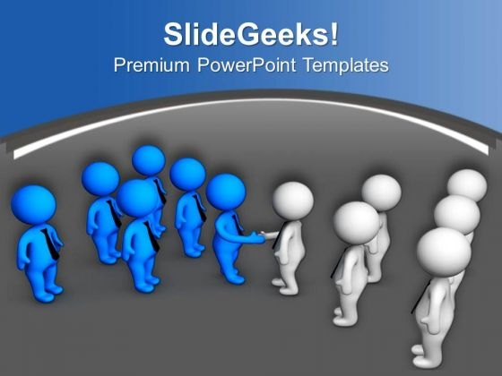 Do Handshake For Business Improvement PowerPoint Templates Ppt Backgrounds For Slides 0513
