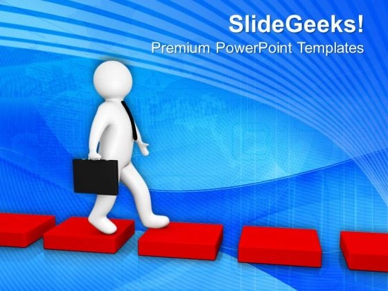 Do Not Follow The Difficult Path PowerPoint Templates Ppt Backgrounds For Slides 0713