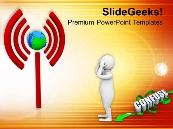 Do Not Get Confused With Wi Fi PowerPoint Templates Ppt Backgrounds For Slides 0813