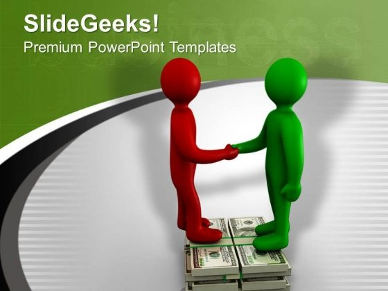 Do The Financial Business Dealings PowerPoint Templates Ppt Backgrounds For Slides 0713