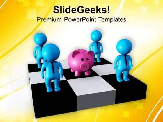 Do The Group Saving PowerPoint Templates Ppt Backgrounds For Slides 0713