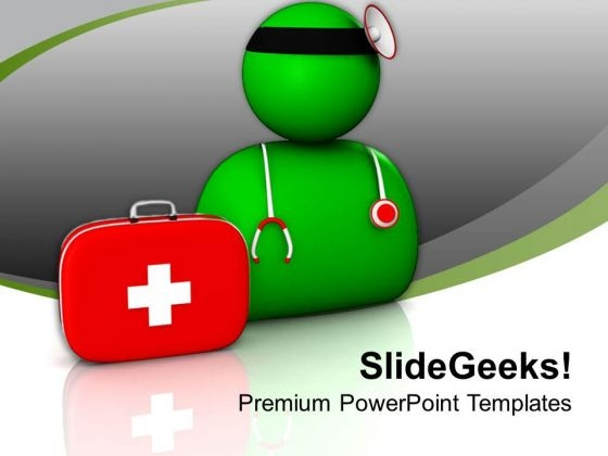 Doctor Is Life Saver PowerPoint Templates Ppt Backgrounds For Slides 0813