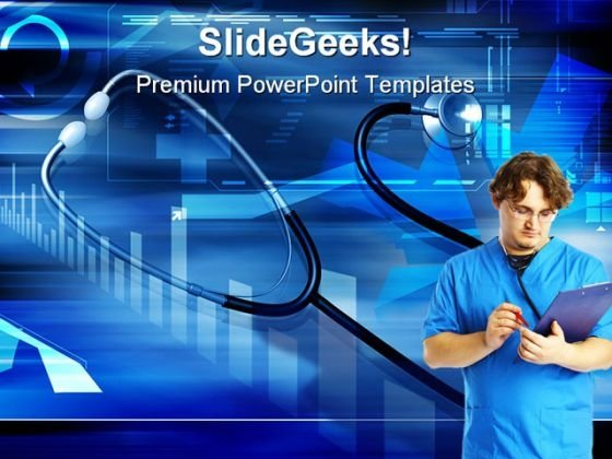 Doctor Medical PowerPoint Template 0610