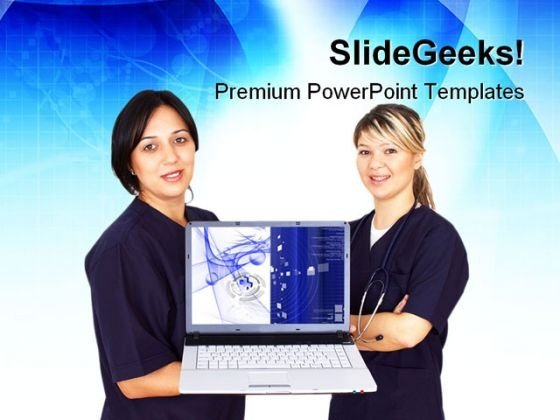 Doctors Before Presentation Medical PowerPoint Themes And PowerPoint Slides 0411