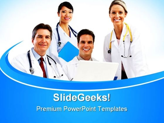 Doctors Team01 Medical PowerPoint Themes And PowerPoint Slides 0411