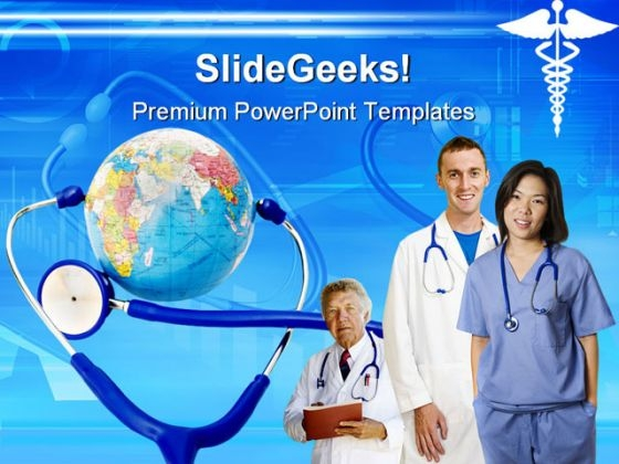 Doctors Team Health PowerPoint Templates And PowerPoint Backgrounds 0711