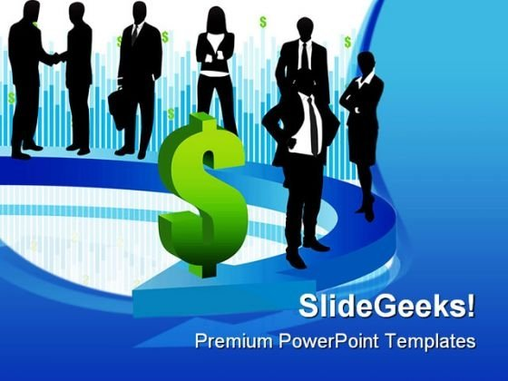 Dollar Business PowerPoint Templates And PowerPoint Backgrounds 0611