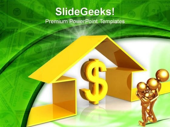 Dollar Deal Real Estate PowerPoint Templates And PowerPoint Themes 0812