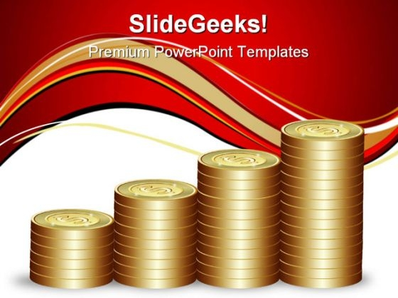 Dollar Graph Money PowerPoint Templates And PowerPoint Backgrounds 1211