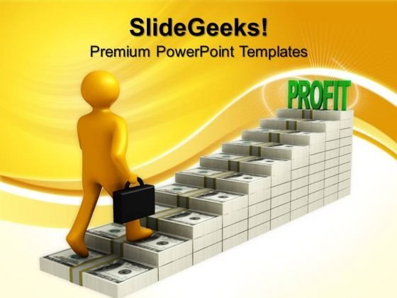 Dollar Graph Profit Business PowerPoint Templates And PowerPoint Themes 0712