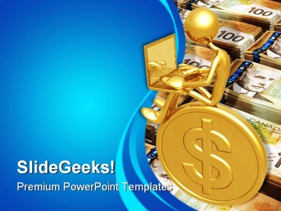 Dollar Money PowerPoint Themes And PowerPoint Slides 0711