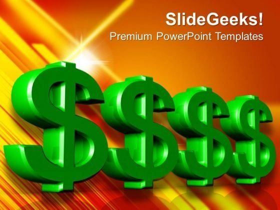 Dollar Sign Money PowerPoint Templates And PowerPoint Themes 1012