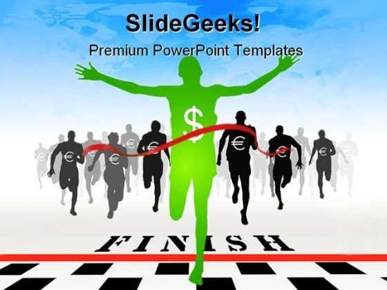 Dollar Wining Finance PowerPoint Themes And PowerPoint Slides 0211