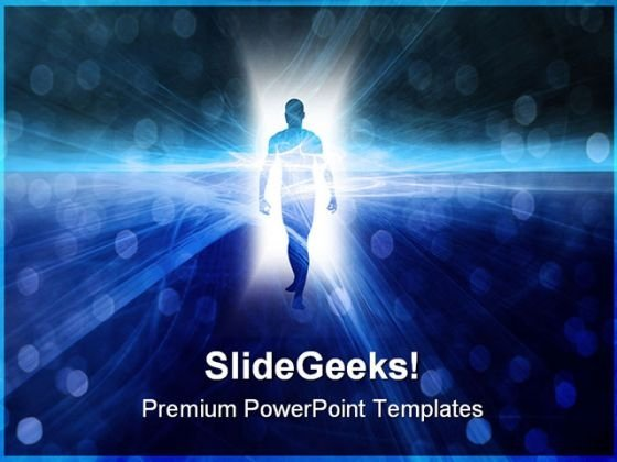 Doorway Success PowerPoint Themes And PowerPoint Slides 0511