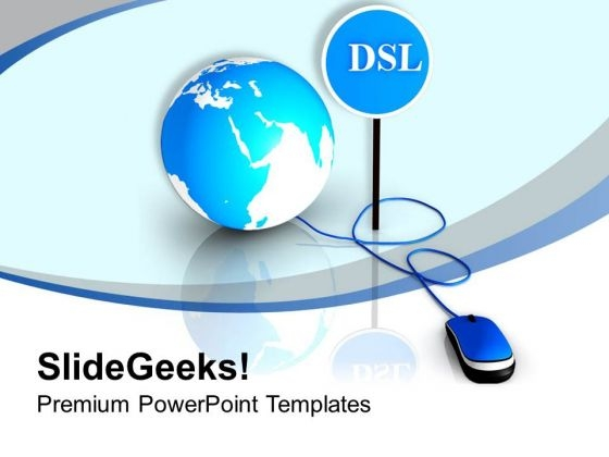 Dsl Can Block Unwanted Web Apllication PowerPoint Templates Ppt Backgrounds For Slides 0513