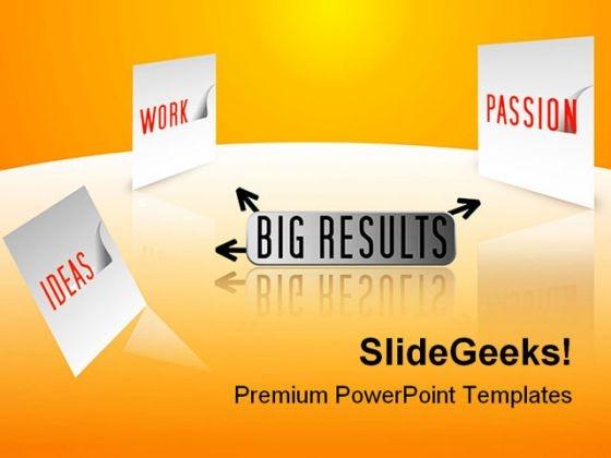 E Business Concept Future PowerPoint Template 1110