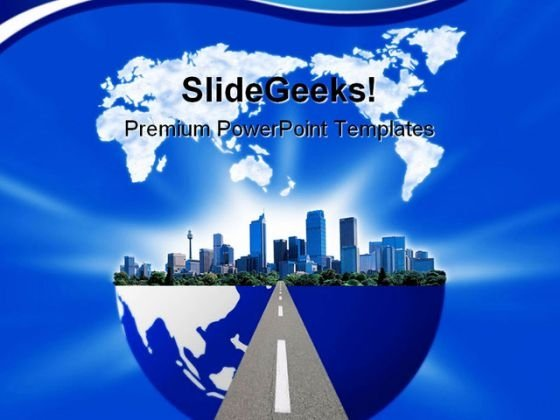 E Business Globe PowerPoint Templates And PowerPoint Backgrounds 1011
