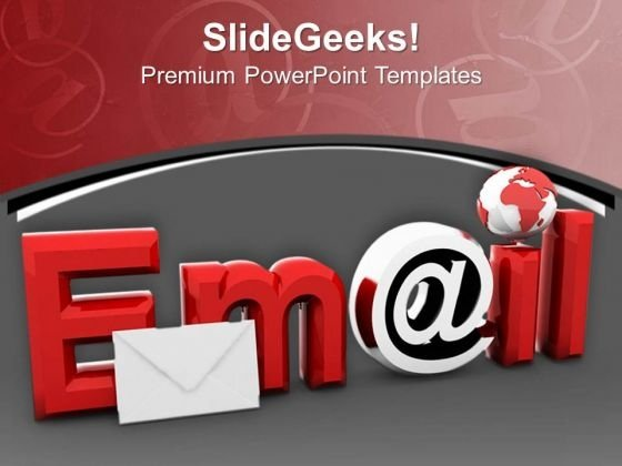 E Mail We Can Connect Globaly PowerPoint Templates Ppt Backgrounds For Slides 0813