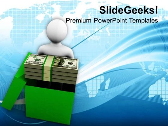 Earn Money And Be Successful PowerPoint Templates Ppt Backgrounds For Slides 0713