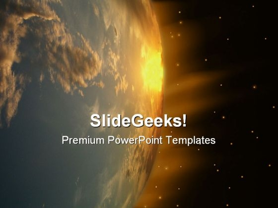 Earth Abstract PowerPoint Templates And PowerPoint Backgrounds 0611