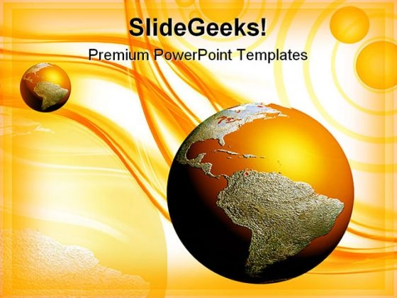 Earth Background PowerPoint Themes And PowerPoint Slides 0411