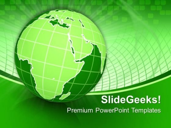 Earth Environment Globe PowerPoint Templates And PowerPoint Themes 0712