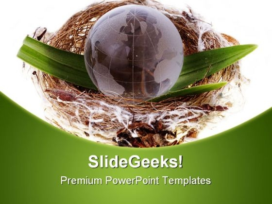 Earth Globe Business PowerPoint Themes And PowerPoint Slides 0511