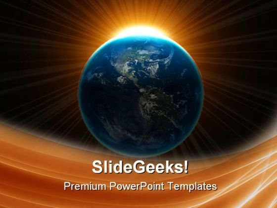 Earth Globe PowerPoint Templates And PowerPoint Backgrounds 0511