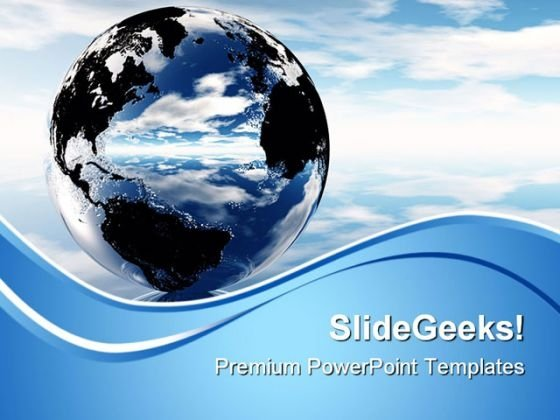 Earth Globe PowerPoint Themes And PowerPoint Slides 0611