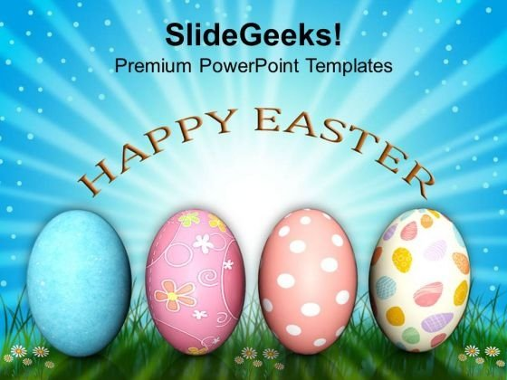 Easter Day Message Of Hope Festival PowerPoint Templates Ppt Backgrounds For Slides 0313