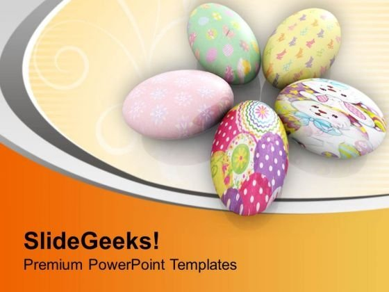 Easter Eggs For Surprise PowerPoint Templates Ppt Backgrounds For Slides 0813
