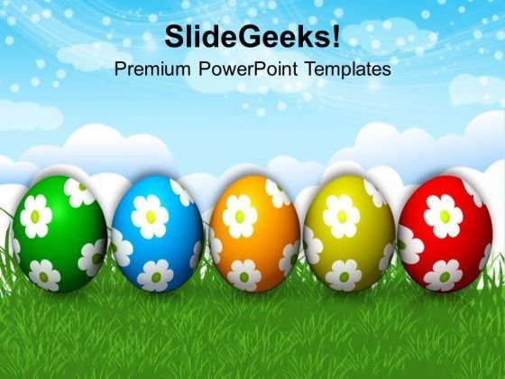 Easter Eggs Full With Surprises PowerPoint Templates Ppt Backgrounds For Slides 0313