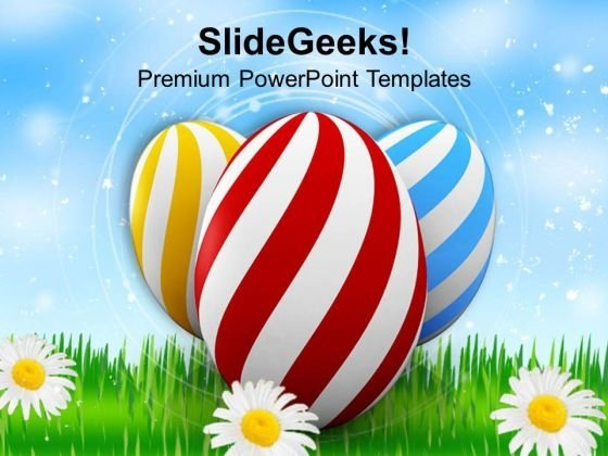 Easter Festival Of Colors And Joy PowerPoint Templates Ppt Backgrounds For Slides 0313