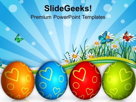 Easter Festival Of Colors Celebration PowerPoint Templates Ppt Backgrounds For Slides 0313
