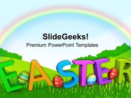 Easter Holy Day Of Christians PowerPoint Templates Ppt Backgrounds For Slides 0313