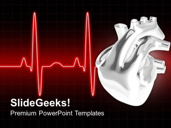Ecg For Good Health PowerPoint Templates Ppt Backgrounds For Slides 0513