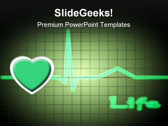 Ecg Medical PowerPoint Templates And PowerPoint Backgrounds 0611