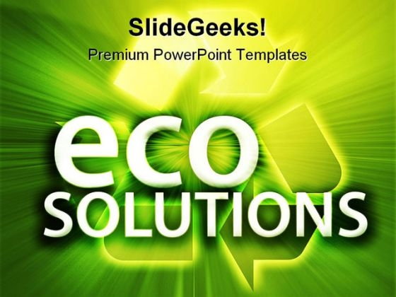 Eco Solutions Environment PowerPoint Templates And PowerPoint Backgrounds 0211