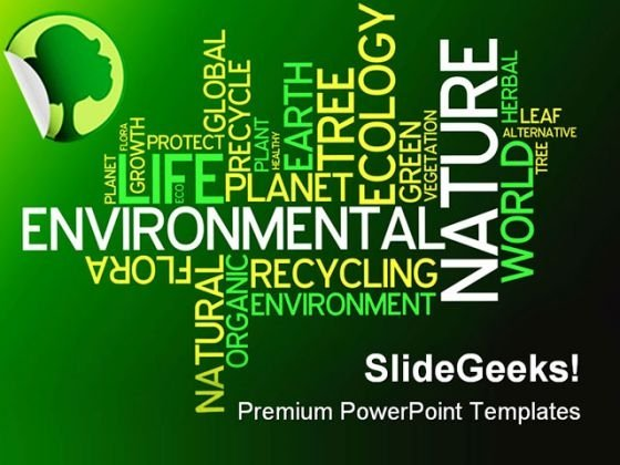 Ecology Environmental Nature PowerPoint Templates And PowerPoint Backgrounds 0211