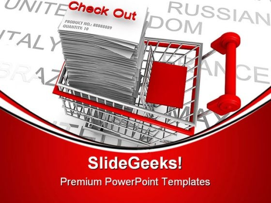 Ecommerce Concept Shopping Sales PowerPoint Templates And PowerPoint Backgrounds 0311