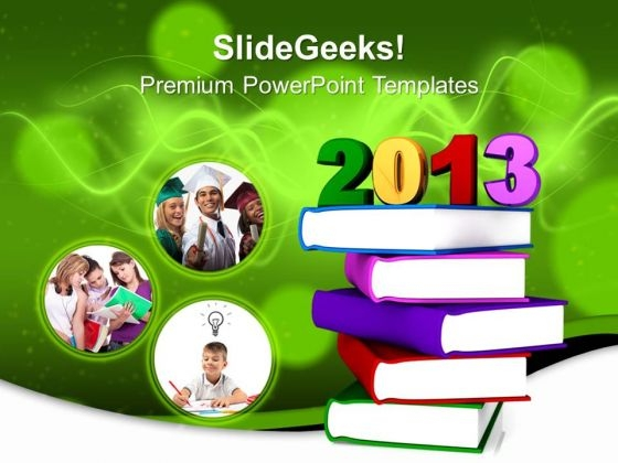 Education 2013 Books Future PowerPoint Templates And PowerPoint Themes 0712