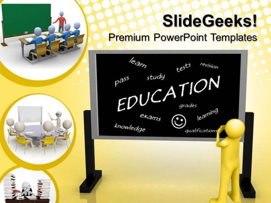 Education Blackboard Future PowerPoint Templates And PowerPoint Themes 0612