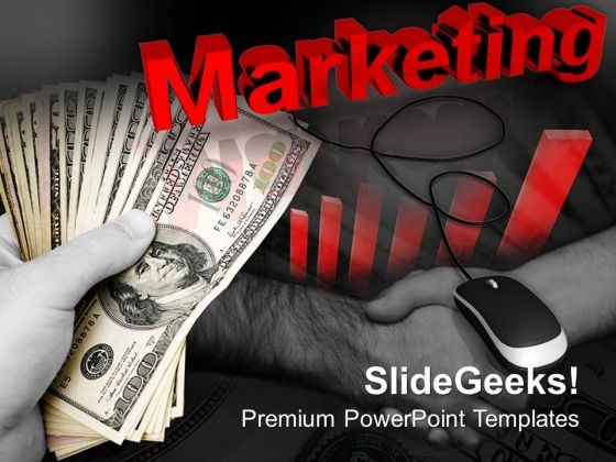 Effective Marketing With Computer Mouse PowerPoint Templates And PowerPoint Themes 0912