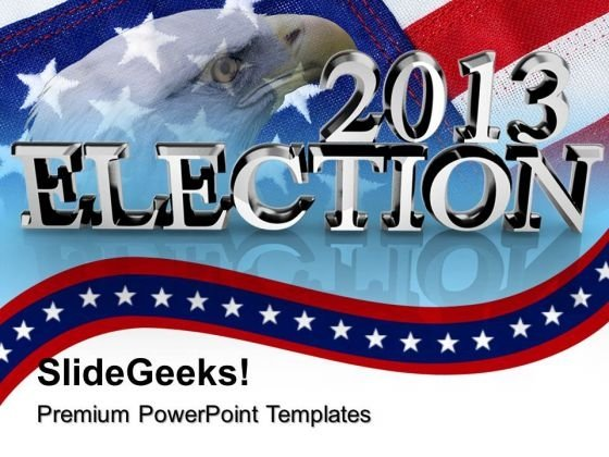 Election Time Americana PowerPoint Templates And PowerPoint Themes 0912