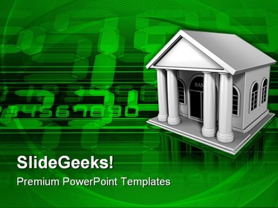 Electronic Banking Finance PowerPoint Themes And PowerPoint Slides 0211