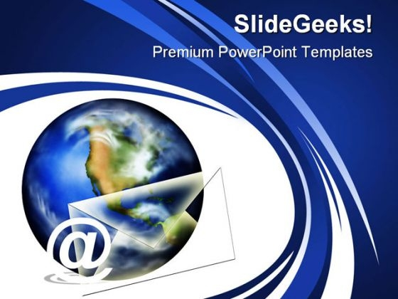 Email01 Internet PowerPoint Themes And PowerPoint Slides 0211