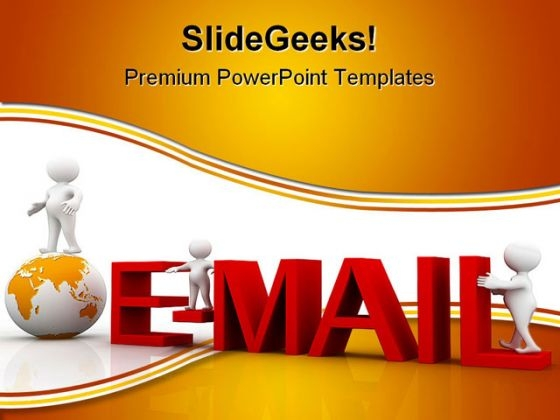 Email Internet Global PowerPoint Templates And PowerPoint Backgrounds 0111