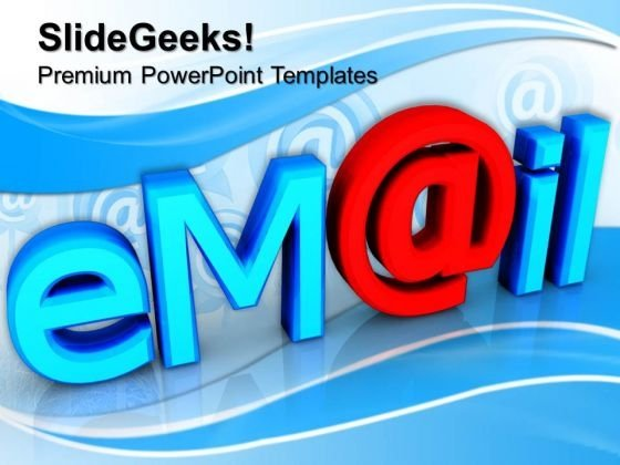 Email Network Communication PowerPoint Templates And PowerPoint Themes 0712