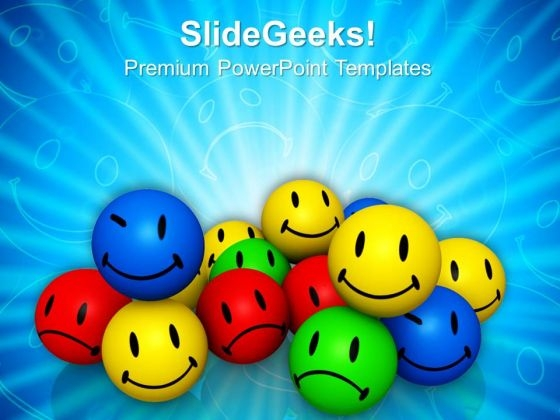 Emotion Icons Smiley PowerPoint Templates And PowerPoint Themes 0912